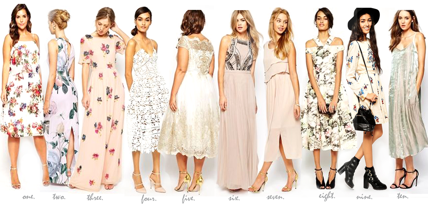 ARE WE BEAUTIFUL?: VINTAGE DRESSES FOR WEDDING GUESTS