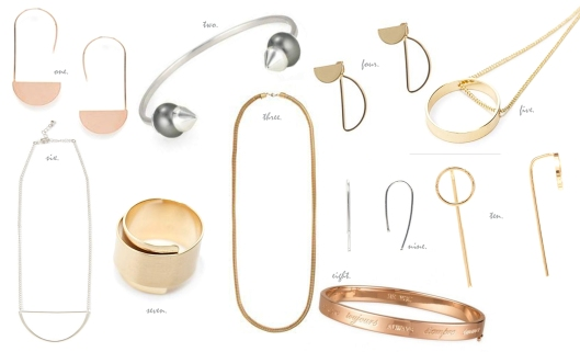 10wanted minimal jewellery